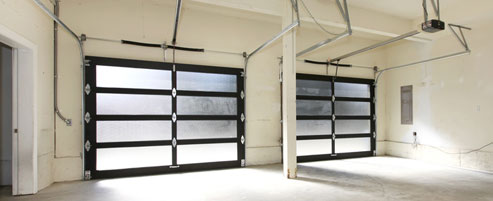 Double garage door Tacoma